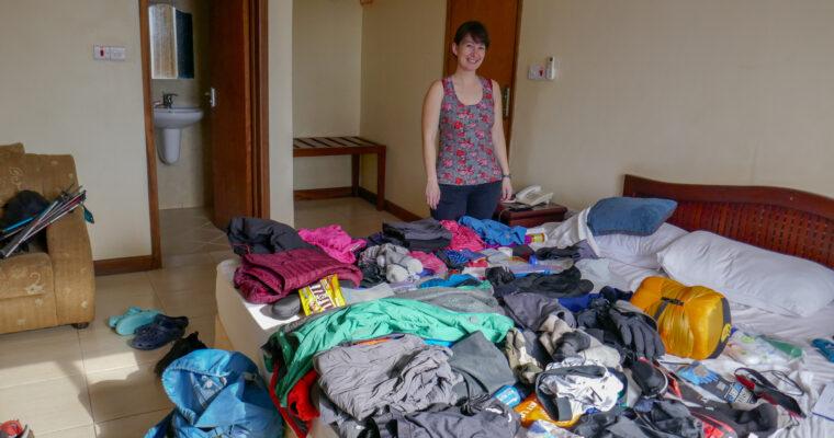 My Kilimanjaro Packing List