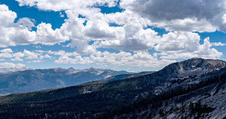 Hiking Mount Givens in the John Muir Wilderness