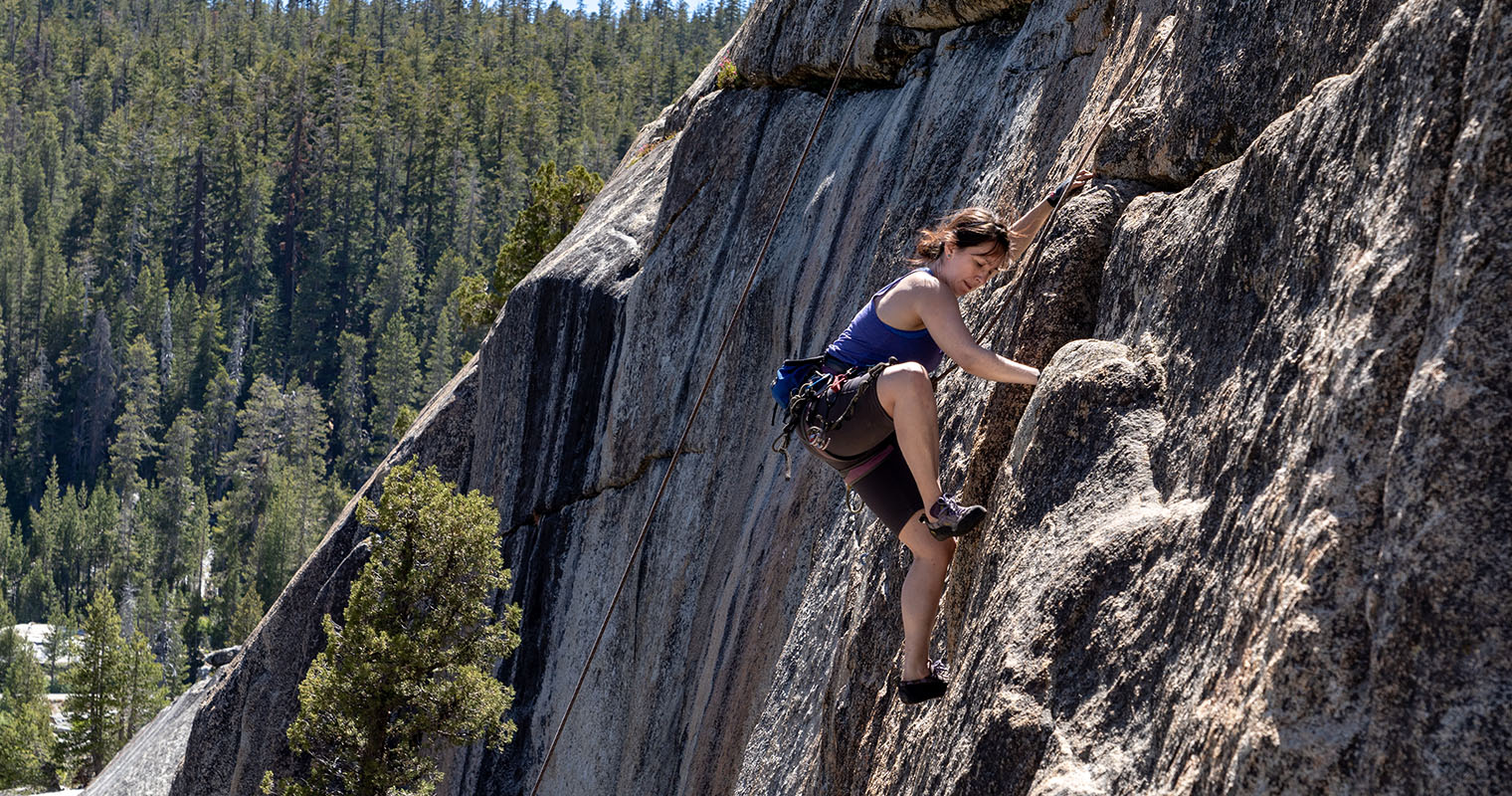 Climbing at Tiger Cage – Courtright Reservoir